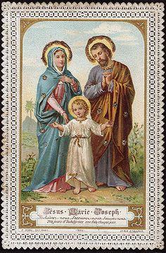 Jesus Mary Joseph Hear us, Help us Save us 200 days indulgence C Morel 952.jpg
