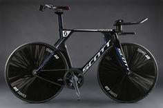 Scott hour record bike