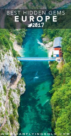 Piva, Montenegro - 17 ideas of truly unique and hidden gems to travel around in Europe next year