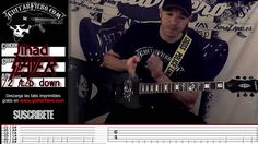 "Como tocar ""Jihad"" (Slayer) by GuitarFiero"