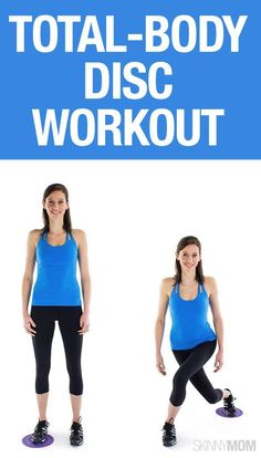 Workouts Plans : Picture Description Glide Time: 25 Gliding Disc Moves to Add to Your Workout Fitness Diet, Fitness Motivation, Health Fitness, Fitness Routines, Paper Plate Workout, Slider Exercises, Body Exercises, Circuit Training, Weight Training