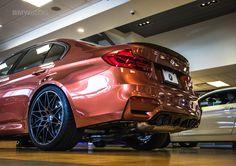 F80 BMW M3 in ultra-rare Byzanz Metallic