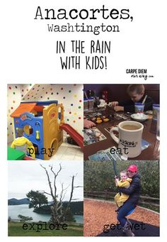 What to do in the Rain in Anacortes with kids! Ancortes on Fidalgo island is great for a vacation, to travel and to enjoy the outdoors
