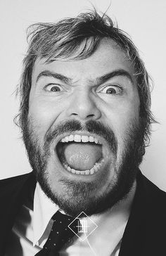 Jack Black - pretty adorable, musical, and could totally be meatloaf for dinner - Eddie.