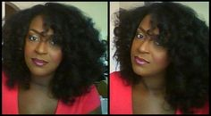 This is my heatless blowout, sponge curlers with moisturizer and ECO Styler. It's soooo fun! :-D  Heatless Blowout->http://realblackhair.tumblr.com/post/32675514013/heatless-blowout    1. Do the Heatless blowout.    2. Smooth a very small amount of your favorite gel with your favorite moisturizer.    3.  Curl hair tightly on sponger curls over night. (Using nine large curlers on each side of the head)