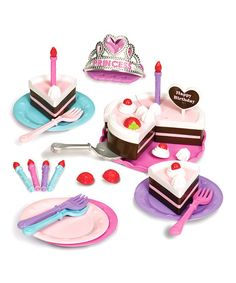 Take a look at this Princess Birthday Party Set by Battat on #zulily today!