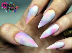 pastel rainbow stilettos!