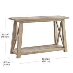 Better Homes & Gardens Granary Modern Farmhouse Console Table, Multiple Finishes - Walmart.com - Walmart.com Farmhouse Sofa Table, Outdoor Console Table, Sofa Table Decor, Console Tables, Farmhouse Decor, Modern Rustic Homes, Modern Farmhouse, Cozy Living Rooms, Living Room Decor