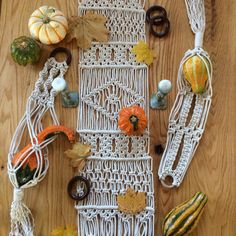 Macrame Table Runner by theContemporaryKnot on Etsy