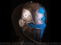 "Evike.com Airsoft Guns - Tac. Gear/Apparel | Evike.com Airsoft Guns - Head - Masks (Full) | Evike.com Airsoft Guns - Limited Edition Rlux Custom Airsoft Wire Mesh ""Blue Paladin"" Mask Inspired by Hellgate |"