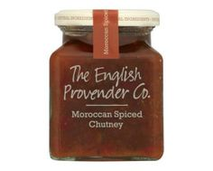The English Provender Co. Moroccan Spiced Chutney - Kitchen Goddess