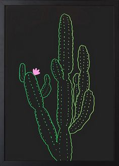 Bring the beauty of botany indoors with the ombre Cactus Wall Art in a striking size. Cactus Drawing, Cactus Painting, Cactus Wall Art, Cactus Decor, Black Paper Drawing, Cactus Photography, Cactus Illustration, Apple Watch Wallpaper, Digital Print