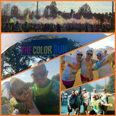 Checked the color run off my Bucketlist today :) Thanks Pinterest!