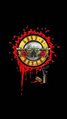 Guns And Roses/ganso ? Rock Band Posters, Rock Band Logos, Metallic Wallpaper, Rose Wallpaper, Guns N Roses Iphone Wallpaper, Roses Quotes, Roses Tumblr, Heavy Metal Art, Band Wallpapers