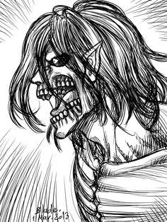 Attack on Titan Eren titan form