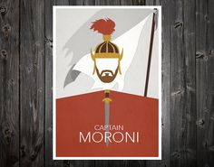 This Print Is The First Of A Series LDS Book Mormon Hero Prints We