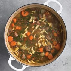 Easy Beef Stew with Noodles
