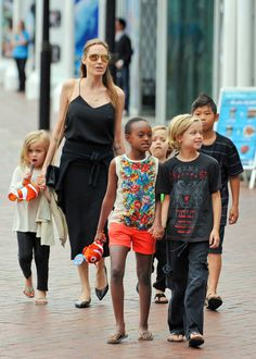 It certainly takes a super mom to take care of this many little ones!