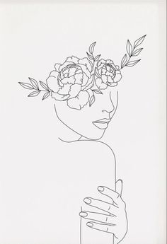 Line Drawing, Painting & Drawing, Art Sketches, Art Drawings, Frida Art, Outline Art, Abstract Line Art, Diy Canvas Art, Colorful Drawings