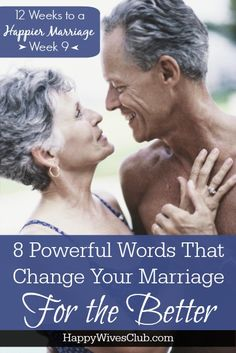 If there is such a thing as 8 words that can change your marriage -or at least the communication within it- they they are these powerful yet humbling words.