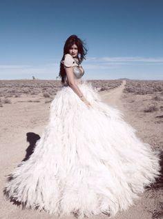 Kylie Jenner's Desert Photo Shoot With Sasha Samsonova
