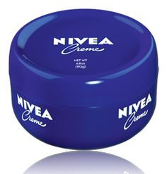 NIVEA Creme, I use this all over her body now that she's getting dry spots with the dry winter weather. Twice a day.