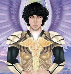 Who is Archangel Raphael? The Archangel of Healing Healing Light, Archangel Raphael, Physical Condition, Close Your Eyes, Black Feathers, Oracle Cards, Losing A Pet, How To Relieve Stress, Spirituality