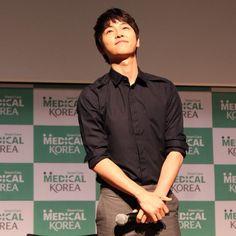 Song Joong Ki 송중기 at Doha, Qatar, as the Honorary Ambassador of Korean Healthcare