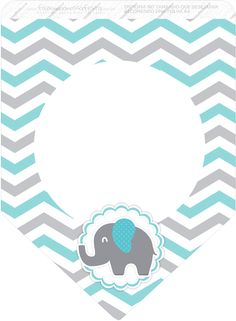 Little Girl 3 Little Girl Elephant Pink and Gray Chevron – Making Our Fest – Baby Elephant Party, Elephant Birthday, Elephant Baby Showers, Baby Shower Niño, Shower Bebe, Baby Shower Parties, Baby Shawer, Baby Kit, Baby Elefante