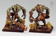 River Troll from Reaper Miniatures. This big guy won a bronze Sophie Trophy at the 2008 ReaperCon in the Warlord Large category.