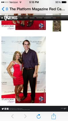 @theplatformmagazine at the VIP red carpet event in NYC 2014 Dr Judy Staveley with extremus athlete Michael