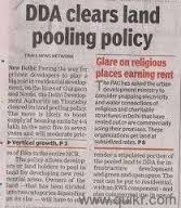 DDA CLEARS LAN D POOLING POLICY