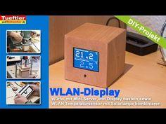 ESP8266-WLAN-Temperatursensor und WLAN-Server bauen