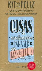 """KIT PARA SER FELIZ COMO UNA PERDIZ Porque la vida está hecha de pequeñas cosas que tenemos alrededor y que nos hacen inmensamente felices. Este """"Kit para ser feliz como una perdiz"""", pretende robarte un sonrisote y recordarte que pase lo que pase hay que tirar """"p'adelante como los de Alicante"""" y ser positivos http://www.imosver.com/es/libro/kit-para-ser-feliz-como-una-perdiz_0010024464"""