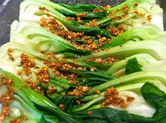 Easy Ways to Love Your Chinese Greens - ....Take a look at these simple instructions,  go to your favorite Asian supermarket, get some greens and try your hand at cooking them.  Give yourself a few tries - in no time at all,  you'll be a superfood,  veggie-cooking machine.  We won't go into the health benefits etc. We all know greens are good for us.........  Auria's Malaysian Kitchen