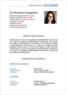 Formato hoja de vida - perfil profesional y datos Resume Cv, Sample Resume, Cv Tips, Hand Lettering Practice, Trigonometry, Resume Templates, Things To Know, Education, Dragon Ball