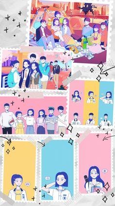 Teen Wallpaper, Wallpaper Iphone Cute, Cute Wallpapers, Web Drama, Drama Film, Teen Web, Cover Wattpad, Wallpaper Aesthetic, Korean Art