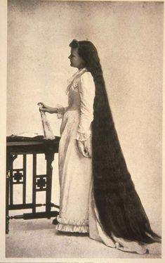 Every night before bed, her maid brushed her floor-length hair and plaited it into one long braid, tied with a ribbon. (Photograph of Martha Matilda Harper courtesy of the Rochester Museum of Science Center.)