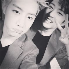 Mark + Youngjae // Seriously, this group has some of the most (best) bromances ever. They are not the only group to have strong connections and genuine respect and love for another, but I feel they are among the few that show it and always make sure to give love to each and every member. I ship all of them with all of them, its so easy to mix and match with these seven cuties ❤️