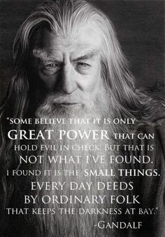 Gandalf the Great  #cangetbehindthat
