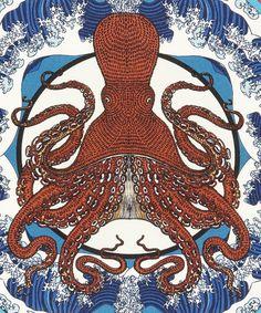 Octoscopic Cushion | Liberty London