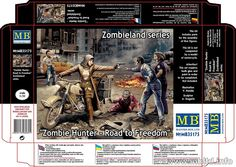 Zombie Hunter Road to Freedom Model Kit