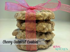 Chewy Chocolate Chip Oatmeal Cookies Recipe