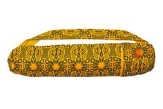 Aztec sun Shweshwe Yoga mat bag handcrafted from by SimplyShweshwe Yoga Mat Bag, Cotton Bag, Aztec, Printing On Fabric, Sunglasses Case, African, Bags, Handmade, Stuff To Buy