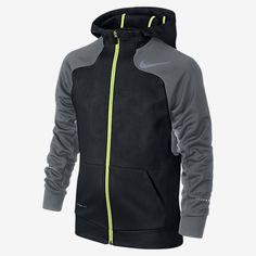 Nike Flash Hyperspeed Full-Zip Fleece Boys' Training Hoodie