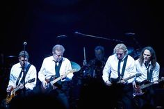 The Eagles during their Long Road Out of Eden tour of 2008.