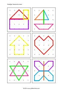 geoboard templates free - Google Search