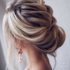 Bridal Hairstyle Ideas #bride#hairstyle#weddinglook#weddinghairstyle