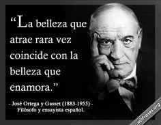 José Ortega y Gasset, filósofo y ensayista español.