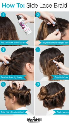 Our take on the side bun is all about the braid. Follow the tutorial to get the look yourself.